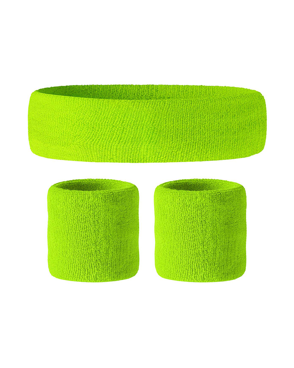 for Working Out,80s costume party Sweatbands Headband//Wristband Set