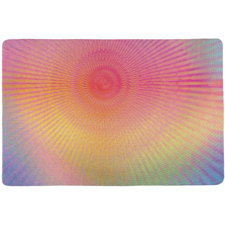 EDM Pastel Unicorn Rainbow Spiral All Over Placemat