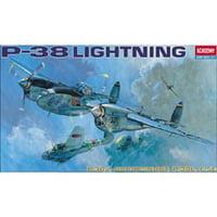 1/48 P38E/J/L Lightning Aircraft