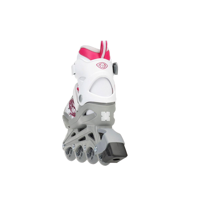 Value Performance Inline Skates White and Pink Junior Bladerunner by Rollerblade Phoenix Girls Adjustable Fitness Inline Skate