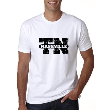 Nashville, Tennessee TN Classic City State Sign Men's T-Shirt - Party City In Knoxville Tn