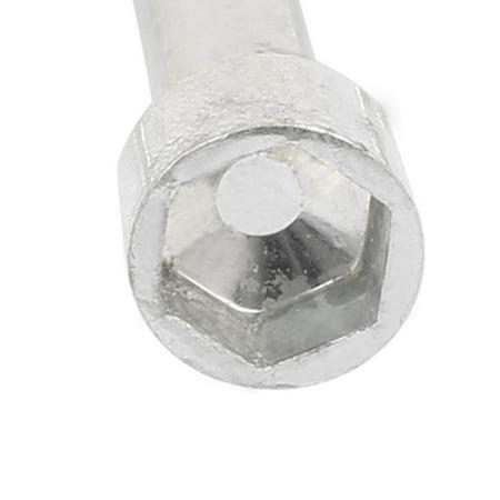A16041800ux0012 10 mm Hex 65 x 55 mm socket T Forme Poignée Clé Clé de profond – Argenté - image 2 de 3
