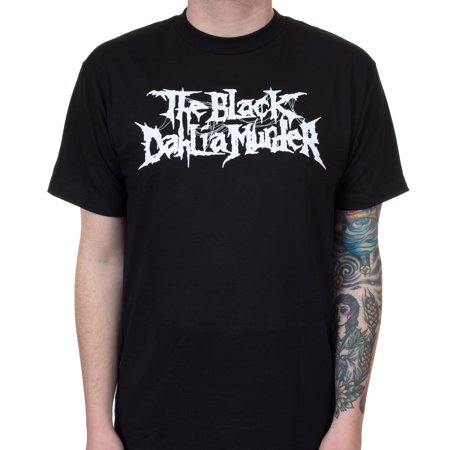 (The Black Dahlia Murder Men's Nightbringers Logo T-Shirt Black)