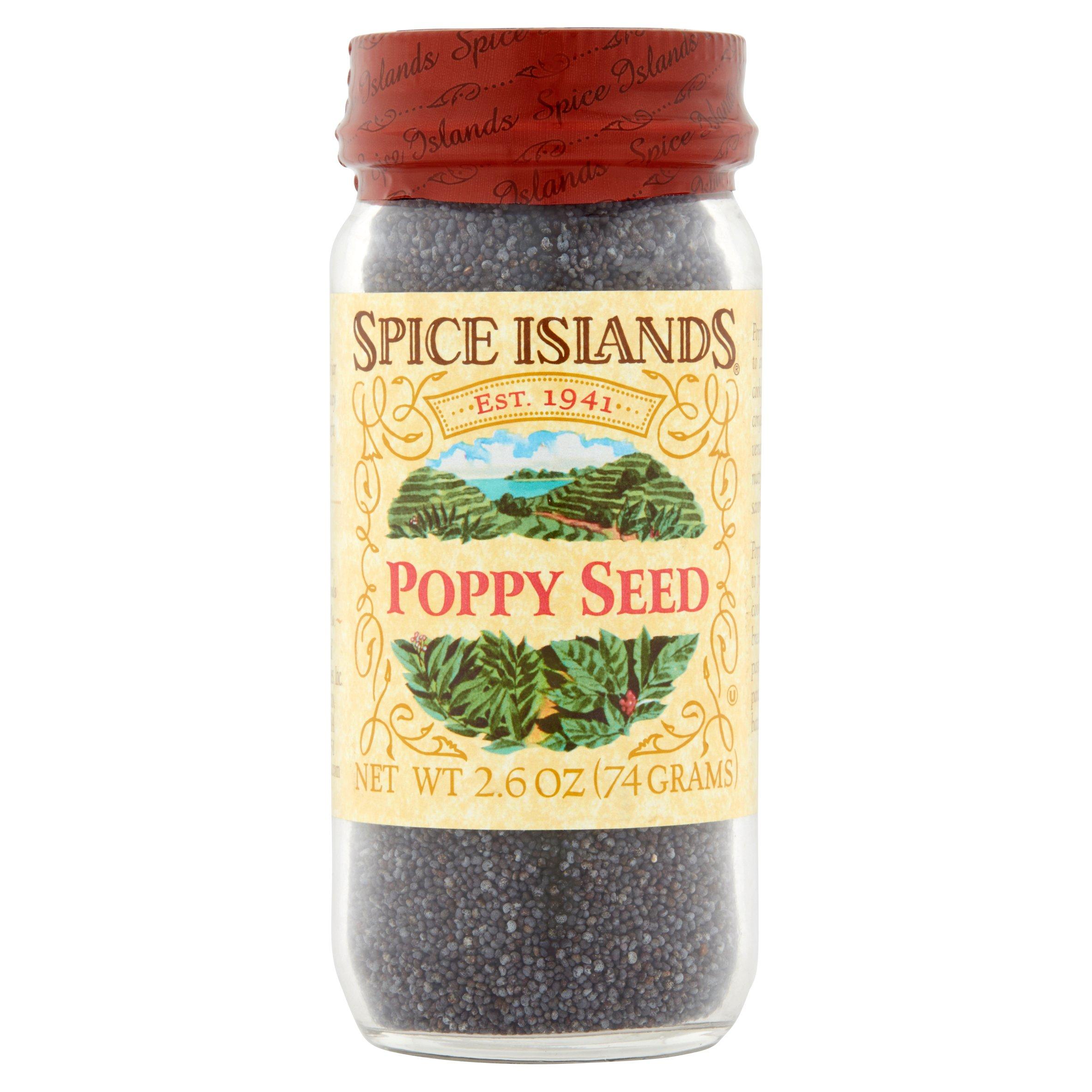 Spice Islands Poppy Seed, 2.6 oz