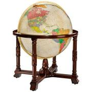 Diplomat Globe Antique 32-inch Illuminated