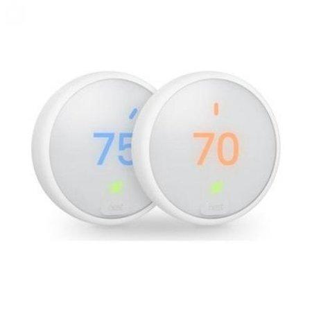 Nest E Thermostat 2X Pack