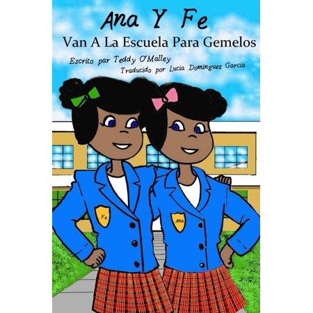 Ana y Fe van a la Escuela para Gemelos - eBook