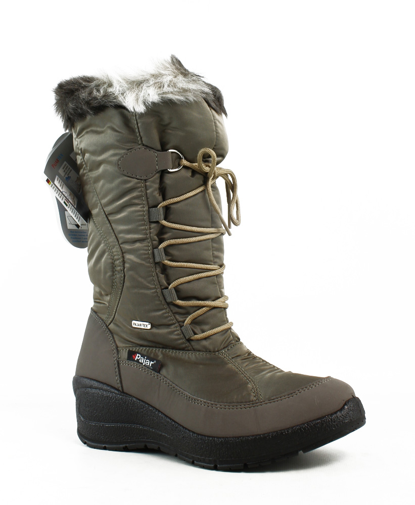 New Pajar Womens Beige Snow Boots Size 6 by Pajar