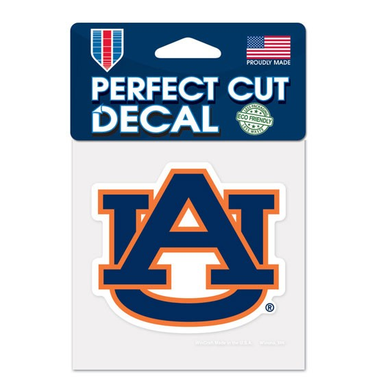Auburn Tigers 4x4 Perfect-Cut Car Auto Decal Sticker