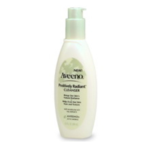 Aveeno Positively Radiant Cleanser, With Moisture-Rich Soy Extracts - 6.7 Oz, 2 Pack Equate Beauty Deep Cleaning Astringent, 10 Oz