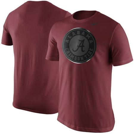 Alabama Crimson Tide Nike Championship Drive Reflective Logo T-Shirt - Crimson - S (Nike Mens Championship Game)
