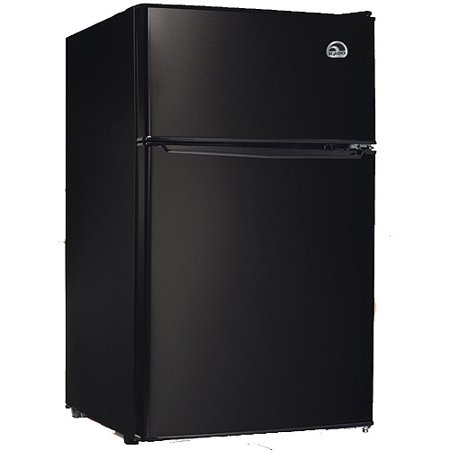 Igloo 3.2 cu ft 2-Door Refrigerator and Freezer