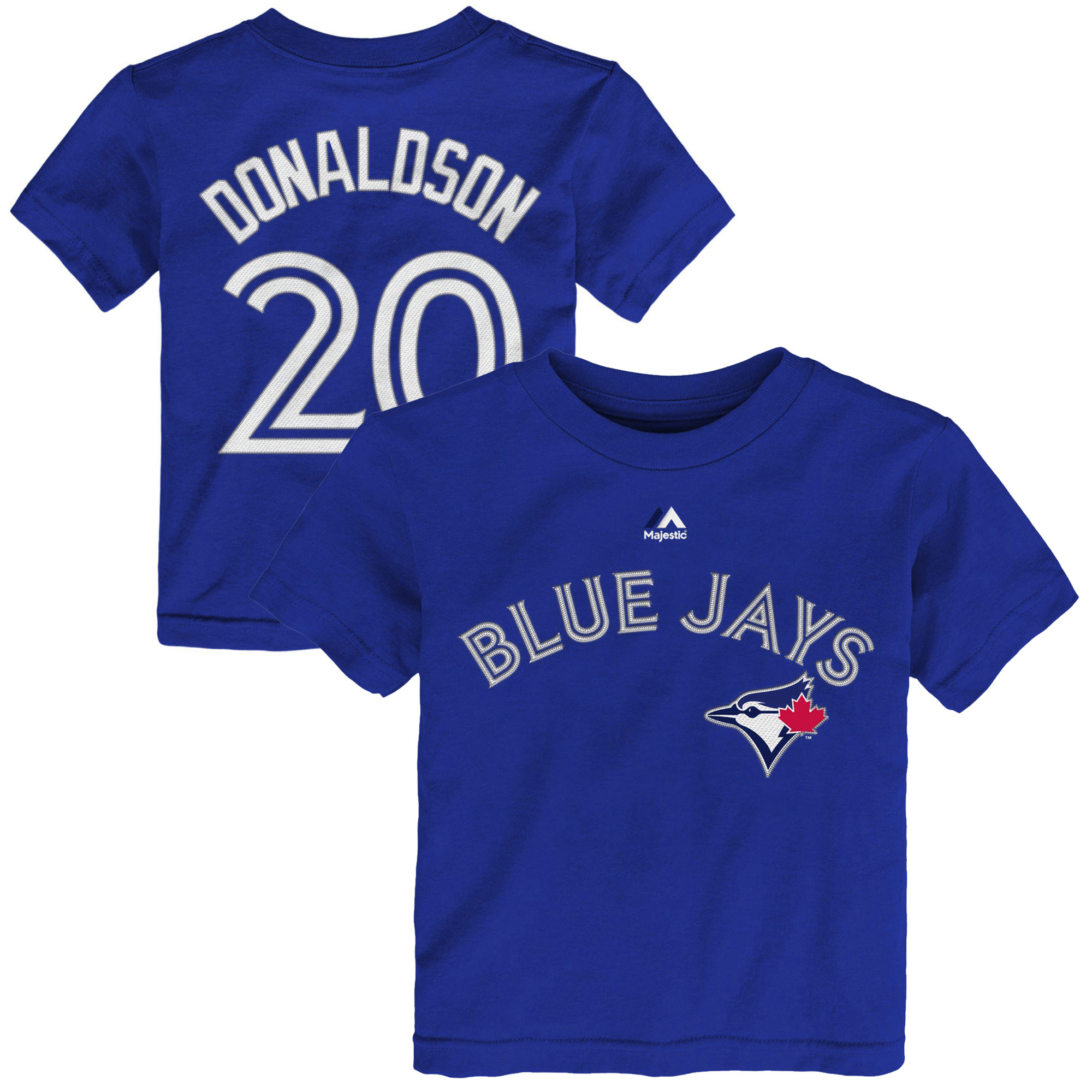 Josh Donaldson Toronto Blue Jays Toddler Name & Number T-Shirt - Royal