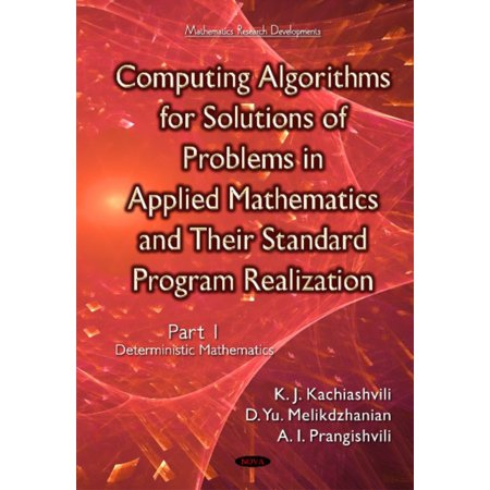 Computing Algorithms Of Solution Of Problems Of Applied Mathematics And Their Standard Program Realization  Hardcover