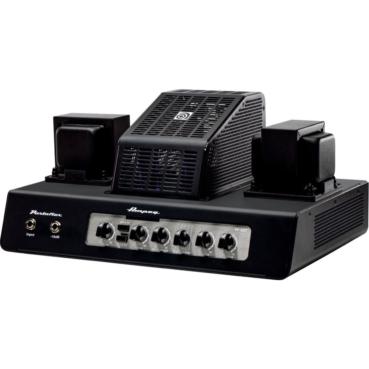 Click here to buy Ampeg PF-50T Portaflex 50W Tube Bass Amp Head by Ampeg.