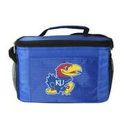 NCAA Kansas Jayhawks 6 Can Cooler Bag