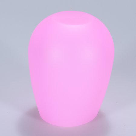 Glowsol Silicone Wine Glass Cup Unbreakable Foldable Shatterproof Party Cups for Travel Picnic Camping BBQ Color:Pink