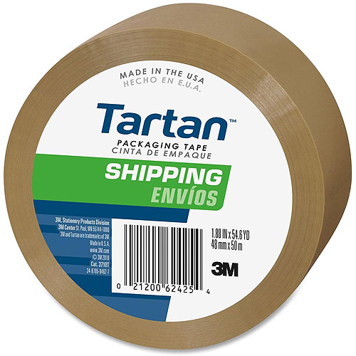 3M Tartan Commercial Grade Packaging Tape