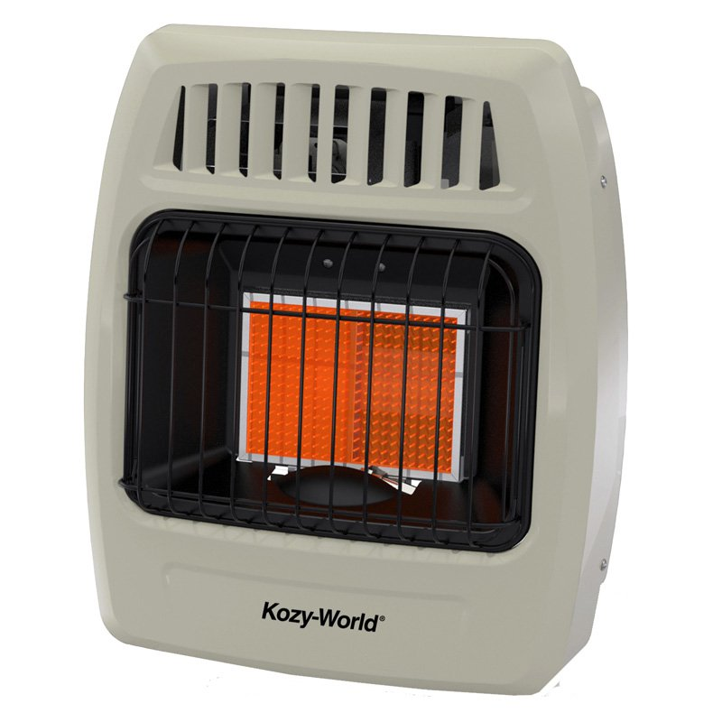 Kozy World KWD215 2 Plaque Infrared Wall Heater