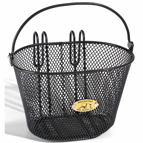 Surfside Children's Mesh Basket, Charcoal Grey