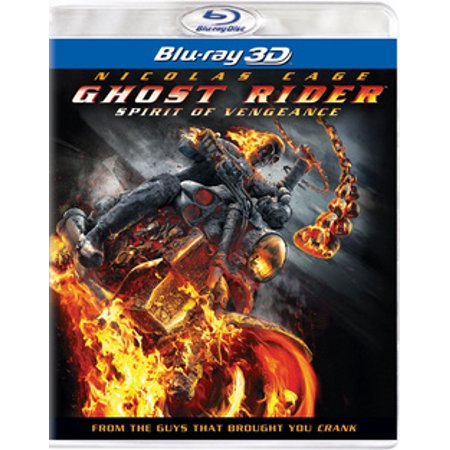 Ghost Rider: Spirit of Vengeance (Blu-ray) (Ghost Rider Spirit Of Vengeance Release Date)