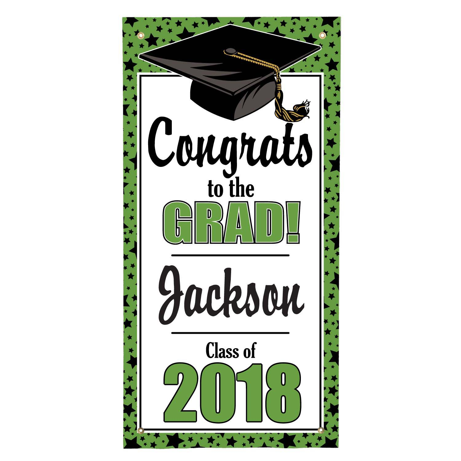 Personalized Graduation Door Hanging Banner