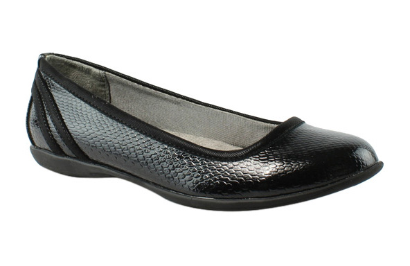 Lifestride Womens E1116S2-002 Black Flats Size 5 New by LifeStride