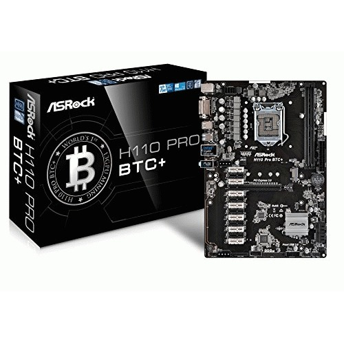 ASRock H110 Pro BTC+ 13GPU Mining Motherboard CryptoCurrency by ASRock