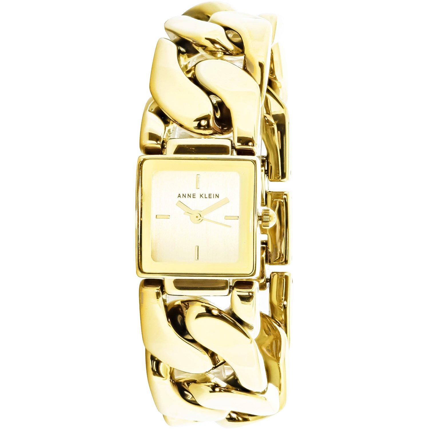 Anne Klein Women's AK-2664CHGB Gold Stainless-Steel Japanese Quartz Fashion Watch