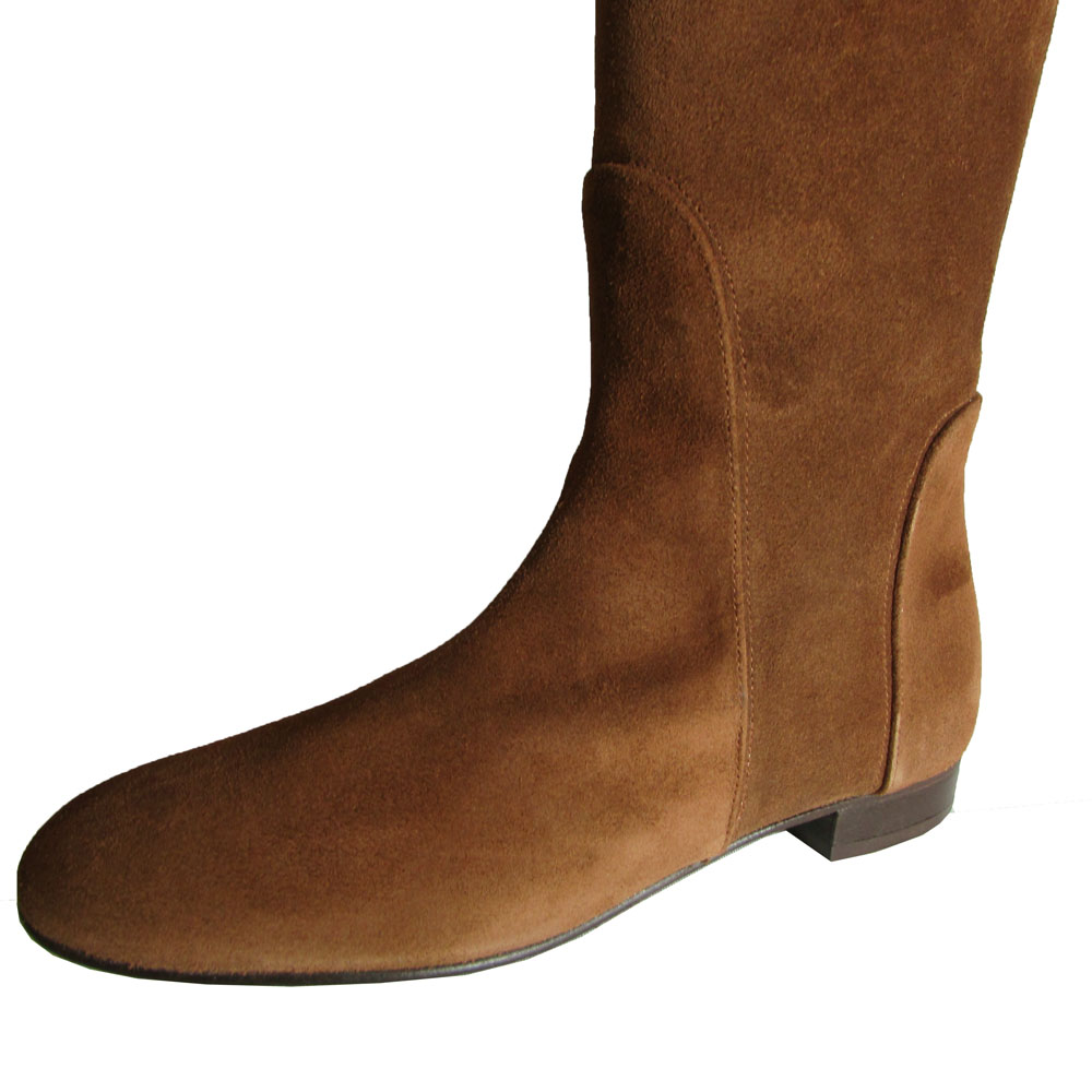 Delman Womens Shoe Molly Leather Riding Boot Shoe Womens a6e153