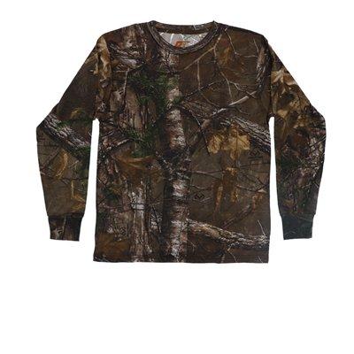 - Pursuit Gear Predator Youth Long Sleeve T-Shirt RealTree Xtra Camo Pattern - Medium