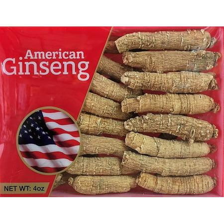 - Hand-selected A Grade American Ginseng Medium Thin-Short Size (4 Oz. Box)