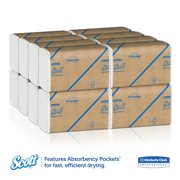 Scott 01804 Multifold Paper Towels, 16 Packs of 250 sheets, 4000 Total