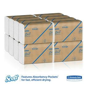 9 X 9 9//20 250 Towels//pack White Boardwalk 6200 Multifold Paper Towels 16