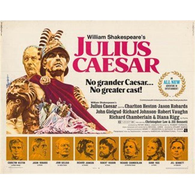 Posterazzi MOV350455 Julius Caesar Movie Poster - 17 x 11 in. - image 1 de 1