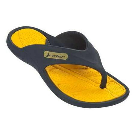 aff4859f4 Rider Kids Cape V Thong Sandal-Yellow-Kids Size 3 - Walmart.com