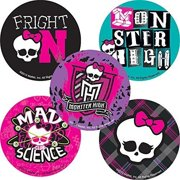 Monster High Stickers - Birthday Party Supplies & Favors - 75 per Pack
