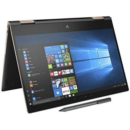 HP Spectre x360-13t Quad Core (8th Gen Intel i7-8550U, 16GB RAM, 512GB PCIe NVMe SSD, IPS micro-edge Touchscreen Corning Gorilla, Windows 10 Ink)Bang & Olufsen 13.3