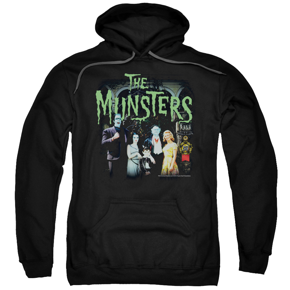 The Munsters 1313 50 Years Mens Pullover Hoodie