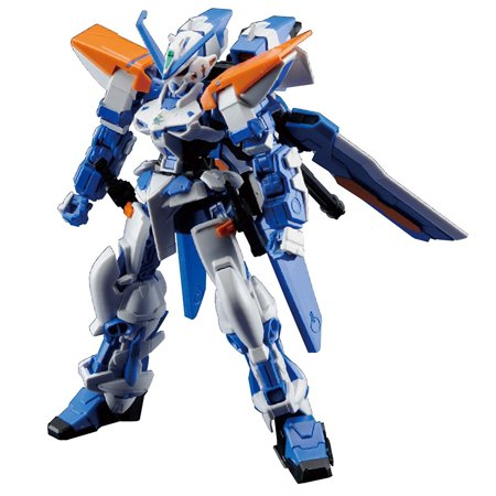 #57 HG Gundam Astray Blue Frame Second L Model Kit, 1/144 Scale, Easy to assemble articulated model kit requiring no glue By Bandai