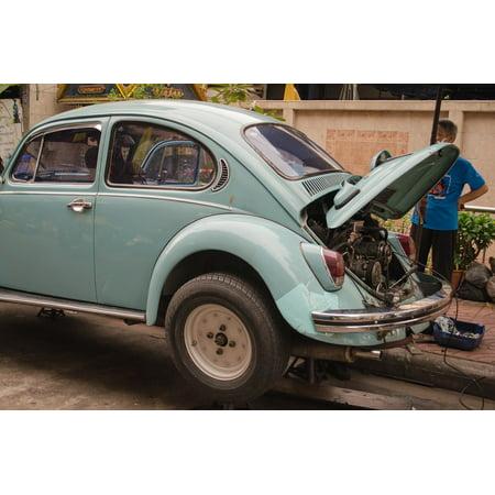 Laminated Poster Service Repair Car Car Repair Maintenance Poster Print 24 X 36