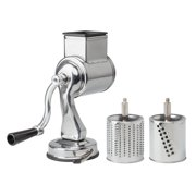 Universal Grater-Fine and Coarse Grater Drums with Suction Base (Fantes Cousin Nicos)