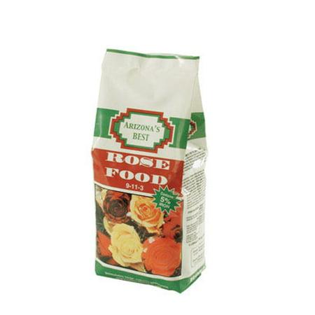 Arizona's Best Rose Granules Plant Food 5 lb. - Case Of: (Best Rose Food For Knockout Roses)