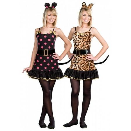 When Is Halloween Costumes 2019 (When The Cat's Away Teen/Junior Costume - Teen)