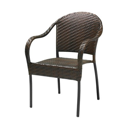 sunset outdoor all weather wicker chair. Black Bedroom Furniture Sets. Home Design Ideas