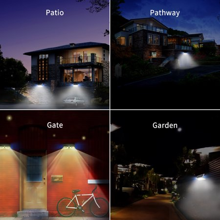 Solar Lights Wall Lamp Light Control Led Outdoor