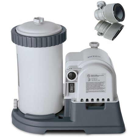 Intex Swimming Pool 2500 Gph With Timer Amp Gfci Filter Pump