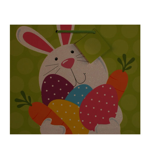 Wal-Mart Easter Vogue Gift Bag, Hands Full Bunny
