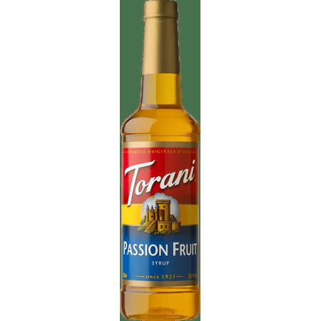 Torani Passion Fruit Syrup 750ml ()