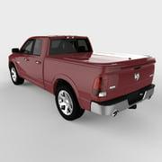 Undercover UC3076L-PRP 11-14 Ram 6.5' LUX Tonneau Cover, Deep Cherry Red